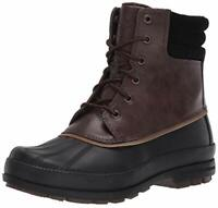 Sperry Top-Sider Men's Cold Bay Boots, Brown/Black, Size 7.0 WoDv