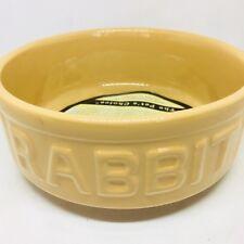 Mason Cash Small Animal Pet Feeding Bowl, New, Rabbit,