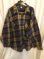 Oshkosh Flannel 4xlb  Vintage Heavy