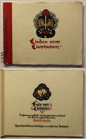 Busch Lieder vom Liebhaben 1928 Liederbuch Kunst Kultur Musik Singen Kinder sf