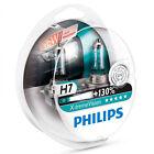 2x H7 Philips X-treme Vision +130 55W Halogen Car Headlight Bulbs European