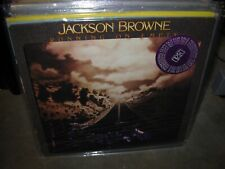 JACKSON BROWNE running on empty ( rock ) booklet - WHITE LABEL PROMO -