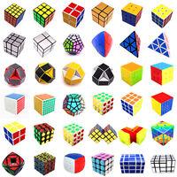 UK 2x2 3x3 4x4 Magic Speed Cube Twist Pyramid Mirror Puzzle Kid Game Toy Twist