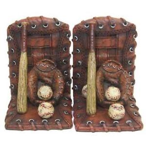 Baseball Sports Boys Room Nursery Bookends (Hobby Lobby) Great Gift