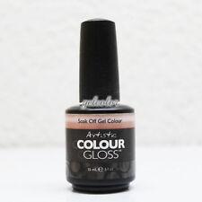 ARTISTIC NAIL DESIGN Colour Gloss Soak Off UV LED Gel Polish 15ml 0.5oz * LIST B