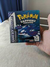 Pokemon Sapphire Version Gameboy Advance Complete