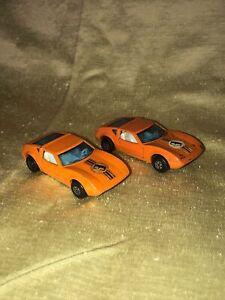Vintage Matchbox Superfast No. 3 Monteverdi HAI England 1973 Lesney 2 Cars