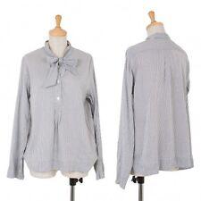 MARGARET HOWELL Stripe Long Sleeve Shirt Size 2(K-49332)