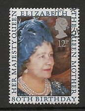 Royalty Machine Cancel Decimal Great Britain Stamps