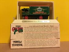 Matchbox 1918 Atkinson Steam Wagon Swan Brewery Beer Model of Yesteryear 1993