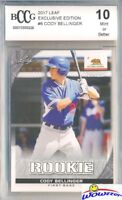 2017 Leaf Exclusive Edition #6 Cody Bellinger ROOKIE BECKETT 10 MINT Dodgers!