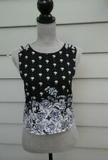 BEAUTIFUL ABERCROMBIE & FITCH WOMAN'S BLOUSE BLACK SIZE XS GREAT CONDITION