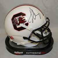 Jadeveon Clowney Autographed South Carolina Gamecocks Mini Helmet- JSA W Auth