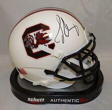 Jadeveon Clowney Autographed South Carolina Gamecocks Mini Helmet- JSA W Auth