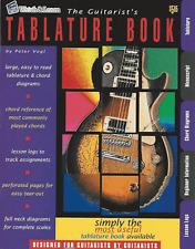 GUITARISTS TABLATURE MANUSCRIPT BOOK Neck Diagrams, Chord Reference, Guitar