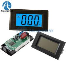 24 Wire Digital Blue Ac 0 500v Voltmeter Panel Lcd Alternating Voltage Meter
