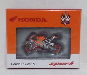 Spark 1/43 Model Diecast Moto Honda Hrc Hayden Australia 2016 Motogp New