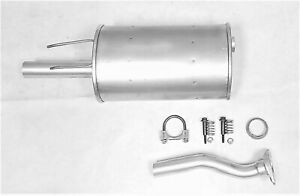 FITS: 2006-2011 HONDA CIVIC 1.8L REAR MUFFLER ASSEMBLY ( Two piece )
