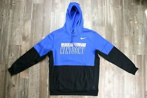 Nike Kentucky Wildcats Therma On-Field Hoodie (CQ5549-480) Mens Size L-2XL