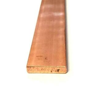 """Copper 3//4"""" x 1 7//8"""" x 3"""" Lg Nice for welding Chill Bar"""