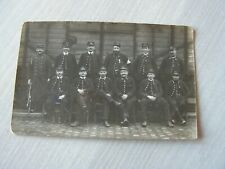 carte  postale    uniformes l'est  ???? chemin de fer  ??    (ref46)