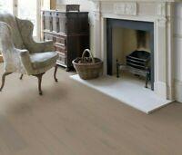 Engineered Wood Flooring Click Grey Brushed Matt Lacquered Floor Real Wooden