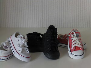converse all star shoes size 4 uk joblot of 3