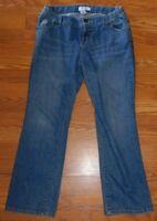 Liz Lange Maternity Blue Denim Jeans Size Medium