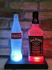 Jack Daniels and Coke Remote LED Bottle Lamp Display Man Cave Bar Light Gift