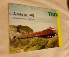 Trix Katalog Prospekt Neuheiten 2012 96 Seiten neuwertig