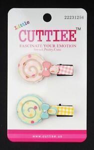 Little Cuttiee #1256(2Pcs) Hair Clip Hair Pin Medium Candy (2.0in) Fancy & Cute
