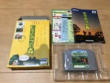 Dobutsu no mori Animal Forest Nintendo 64 n64 W/ box manual game Japan