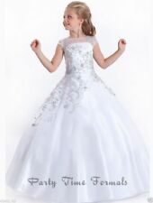 New Lace 2019 Flower Girl Dresses Kids Birthday Weddings Holy Communion Gowns