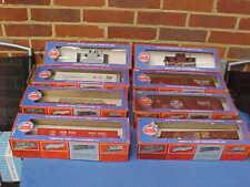More details for job lot german ahm rivarossi  o gauge american railway locomotive wagons - boxed
