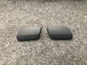 VW Golf Jetta Passat Headlight Washer Covers Left&Right Black