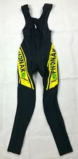Nalini Team PHONAK Winter Cycling Tights Long Bib Pants Men's Size M Insulated