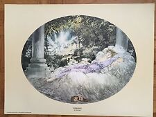 Louis Icart lithograph prints, on cameo dull stock.