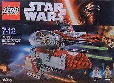 Lego Star Wars  - Obi Wan's Jedi Interceptor 75135 *NEW - Sealed Box*