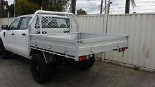 Alloy Ute Tray to suit Dual Cab Utes - Ex Display Stock