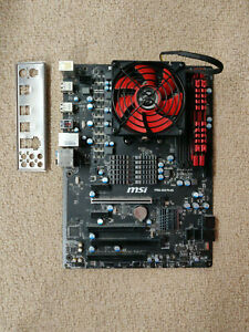 MSI 970A-G43 PLUS motherboard with AMD FX 8370 CPU, 16 GB G.SKILL DDR3-1866 RAM