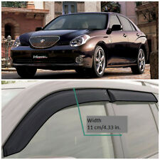 Wide Window Visors Side Guard Vent Deflectors For Toyota Verossa Sd 2001-2004