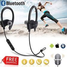 Bluetooth Auriculares Inalámbrico Deportiva Cascos Estéreo In-Ear Con Mic Correr