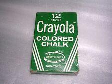 Vintage 1950's Crayola Colored Chalk no.816 Binney & Smith