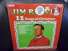 Jim Reeves 12 Songs of Christmas RCA Records EX UK Stereo In Shrink