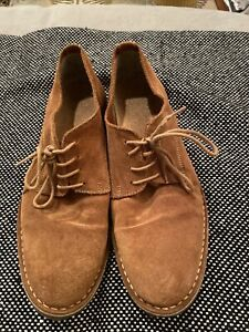 Selected homme Suede Mens Lace Up Shoes Size Uk9