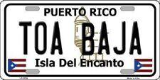 Toa Baja Puerto Rico Metal Novelty License Plate