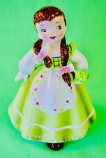 ☘️ ST PATRICK'S DAY! VTG Irish International Girl Figurine Arnart Napco Ireland