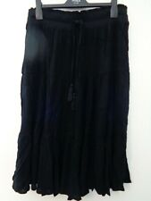 BNWT LADIES M&S COLLECTION RANGE BLACK COLOURED  MAXI STYLE GYPSY SKIRT SIZE 16