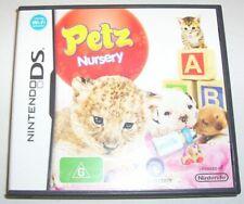 Nintendo DS - Petz Nursery game