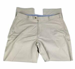 Peter Millar Men's Chino Golf Pants Size 40W 31L Ivory
